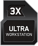 3x Ultra Workstation