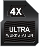 4x Ultra Workstation