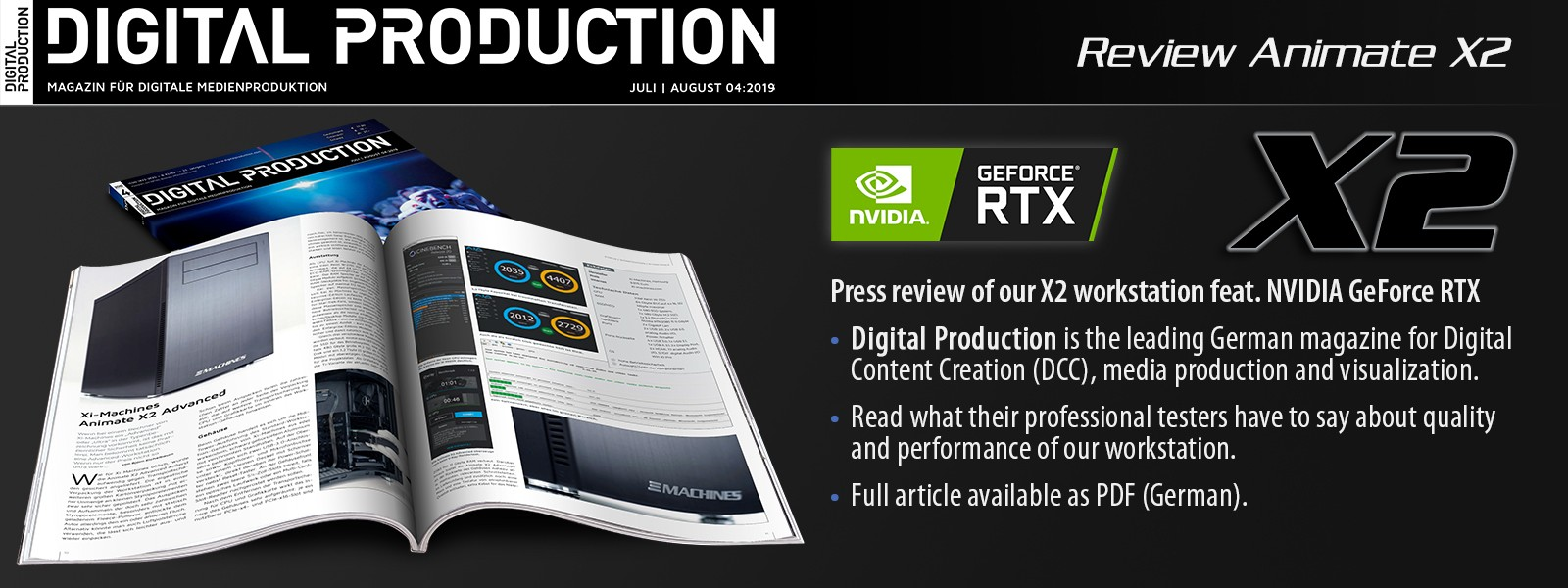 X2 - now featuring NVIDIA GeForce RTX