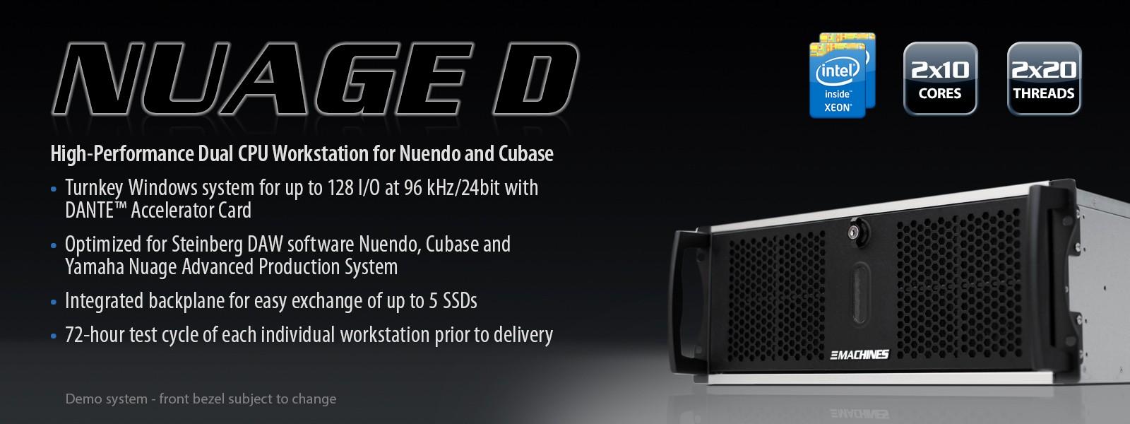 Xi Machines Nuage D En Nuendo 5 Overview